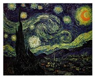 The Starry Night, c.1889 Art