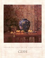 Oriental Vase with Crab Apples Art