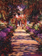 Il Viale del Giardino  Fine Art Print