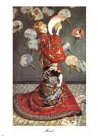 La Japonaise  Fine Art Print