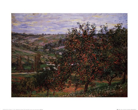 Framed Apple Trees Print