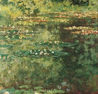Pool with Waterlilies, 1904 Art