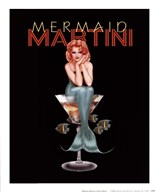 Mermaid Martini Art