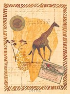 Travel Giraffe Art