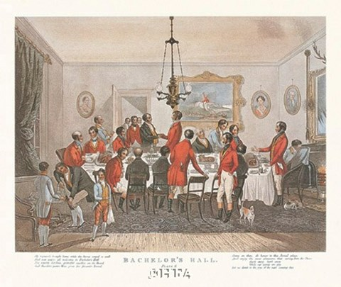 Framed Bachelor's Hall/Plate No. 6 Print