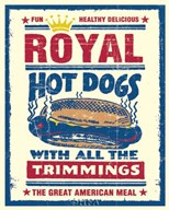 Royal Hot Dogs Art