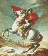 Bonaparte at Mont St. Bernard  Fine Art Print