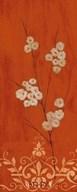 Sienna Flowers II  Fine Art Print