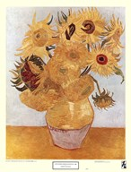 Vase with Twelve Sunflowers, c.1888