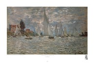Boats, Regatta at Argenteuil  Fine Art Print