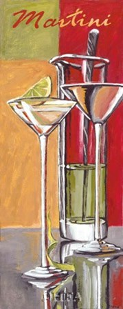 Martini by Zoya Trofimova art print