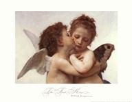 The First Kiss  Fine Art Print