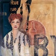 Rue du Vieux Bistro Art
