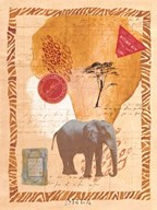 Travel Elephant Art