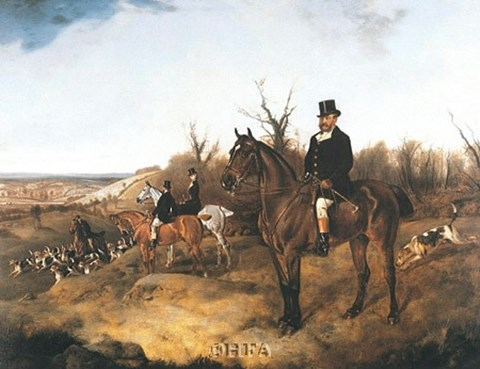 Framed Beaufort Hunt Print