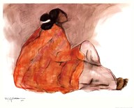 Seated Woman Art