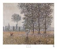 Fields in Spring Art
