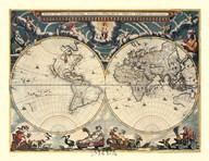 Map of the World, c.1600's