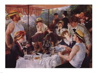 Luncheon of the Boating Party, c.1881 Art