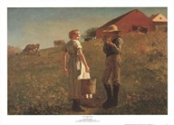 Gloucester Farm  Fine Art Print