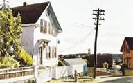 Adam's House  Fine Art Print