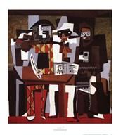 Three Musicians  Fine Art Print