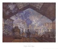 La Gare Saint-Lazare Art