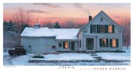 Farmhouse Sunset  Fine Art Print