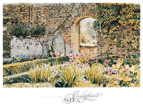 Framed Sissinghurst Print