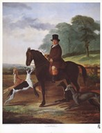Huntsman with his Greyhounds  Fine Art Print