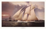 The Yacht Magic  Fine Art Print