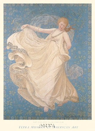 Framed Breeze, 1895 Print