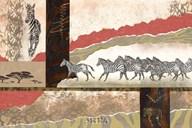 Serengeti Zebras Art