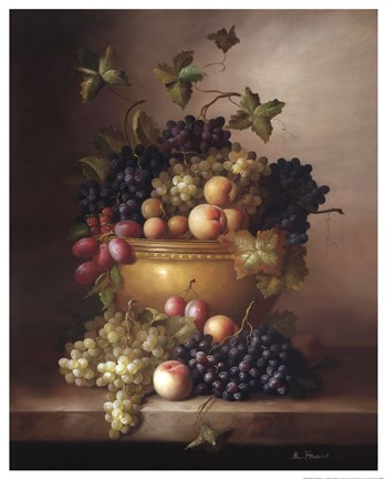 Framed Bordeaux Fruit Print