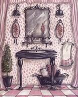 Fanciful Bathroom III  Fine Art Print