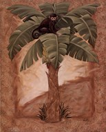 Monkey Palm I  Fine Art Print