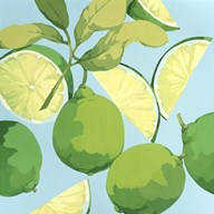 Fresh Limes Art