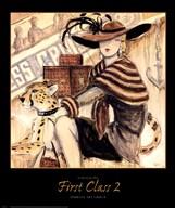 First Class 2  Fine Art Print