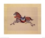Dynastic Horses IV  Fine Art Print