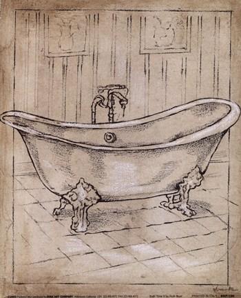 Bath Time Ii Fine Art Print By Ruth Bush At Fulcrumgallery Com