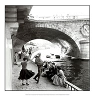 Rock n Roll sur les Quais de Paris  Fine Art Print