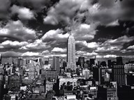 New York, New York, Sky Over Manhattan  Fine Art Print