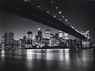 New York, New York, Manhattan Skyline  Fine Art Print