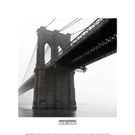 Brooklyn Bridge Fog  Fine Art Print