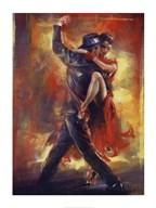 Tango Argentino  Fine Art Print
