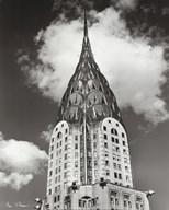 Top of Chrysler Building Art