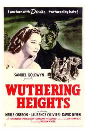 Framed Wuthering Heights - Samuel Goldwyn Print