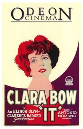 Framed It Clara Bow Print