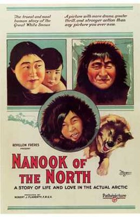 Framed Nanook of the North Print