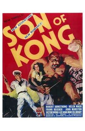 Framed Son of Kong Print